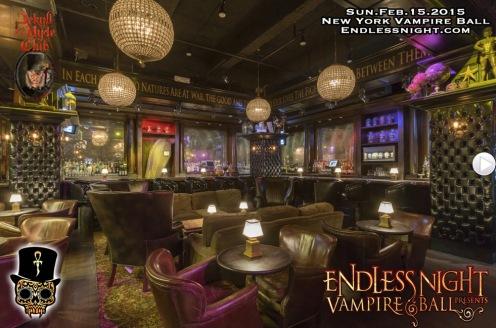 Bar Area for the NY Vampire Ball 2015